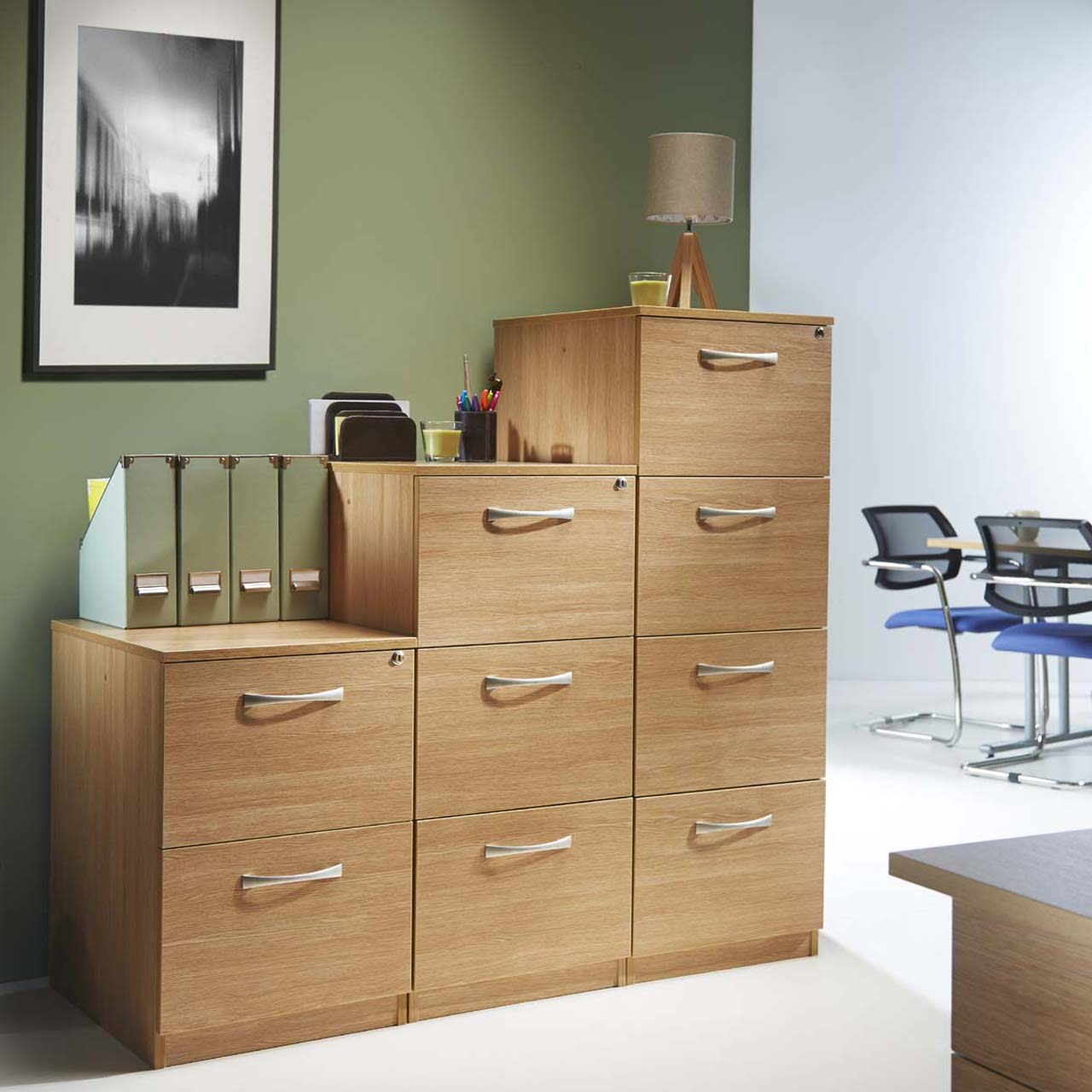 Creative Doctor39s Office Patient File Storage In A Rotary Cabinet